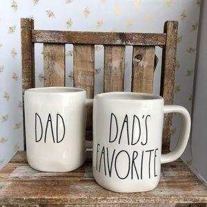 Rae Dunn Dad's Favorite Mug Set